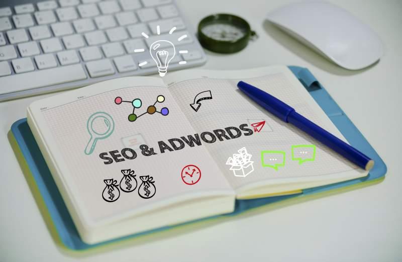 campagne de SEO, adwords