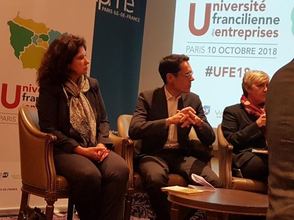 Université Francilienne des Entreprises, RGPD, numérique